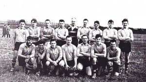 Team photo from the first year of the reformed club in 1963.